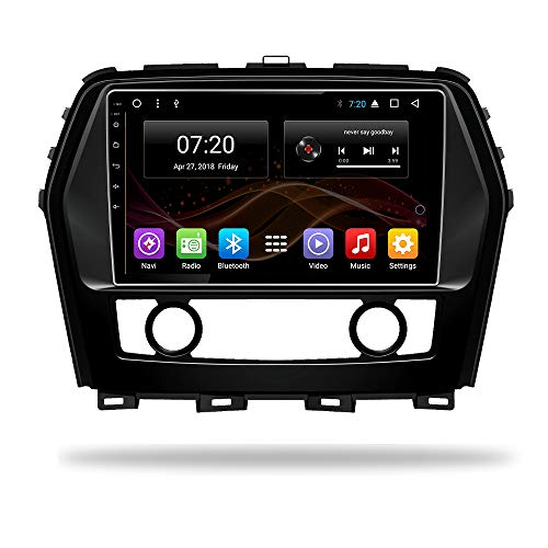 Android 7.1 Car DVD Radio GPS Navigation for Nissan CIMA Infiniti Q45 Stereo Audio Navi Video with Bluetooth Calling WiFi Touch Screen (Android 7.1 1/16G for Nissan CIMA) Infiniti Car Stereo