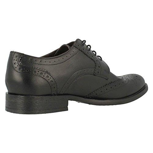 Base Londres. pour Chaussures richelieu MTO chêne Noir ciré