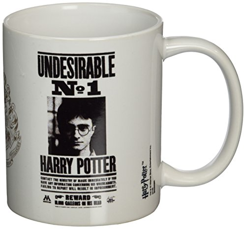 Harry Potter MG22385 - Cuenco de cereales, color blanco