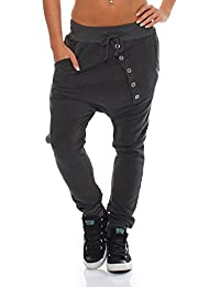 Moda Italy pantalones de chándal holgados pantalones novio de la mujer de moda  pantalones deportivos pantalones 1b87fa3d6bd18