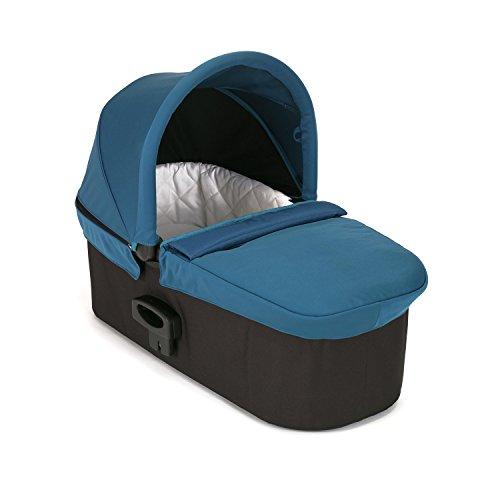 Baby Jogger nacelle Deluxe - pour poussette simple City Mini/City Mini GT/City Elite/City Premier/City Select/City Select LUX et Summit X3 Bleu canard