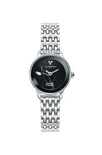 Viceroy Reloj Analogico para Mujer de Cuarzo con Correa en Acero Inoxidable 471128-59
