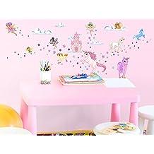 Kinderzimmer wandgestaltung feen  Suchergebnis auf Amazon.de für: Wandtattoo Kinderzimmer Mädchen