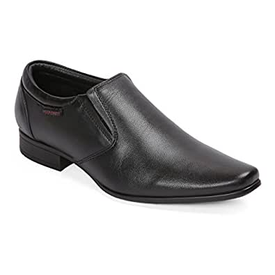 Red Chief Men's Black Leather Formal Shoes-6 UK (40 EU) (RC3538_001_6)
