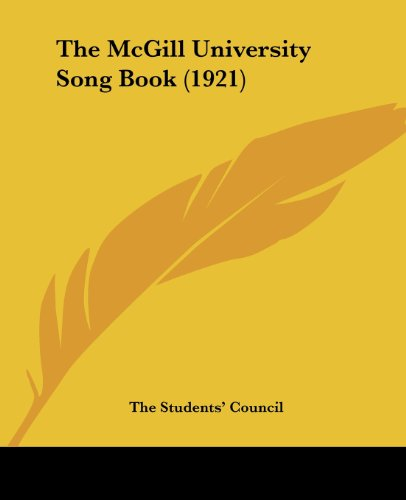 The McGill University Song Book (1921)