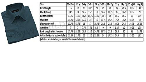 Formales Hemd, Jungen, 6 Monate - 16 Jahre, Violett - Fliederfarben