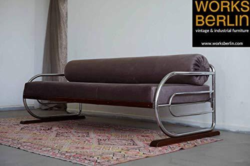 Bauhaus Sofa, Tagesbett, Liege, Chaiselongue, neu gepolstert -worksberlin.com