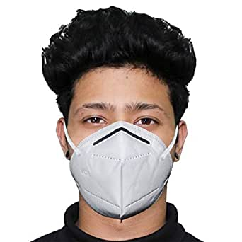 ORILEY K-N95 FDA Approved Disposable Face Mask with Nose Pin for Men & Women (2 Pcs)