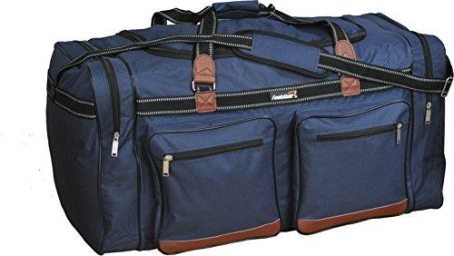 Foolsgold Extra große 120L Reisetasche Holdall Tasche Dunkelblau