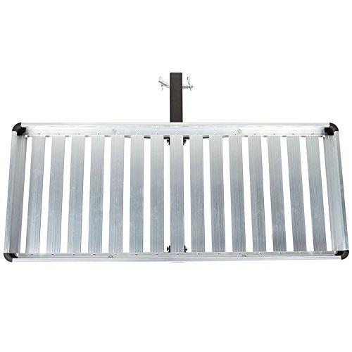 Discount Ramps Deluxe Gepäckträger, Aluminium, belastbar bis 136 kg -