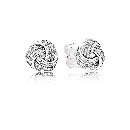 Pandora orecchini a perno donna argento - 290696cz