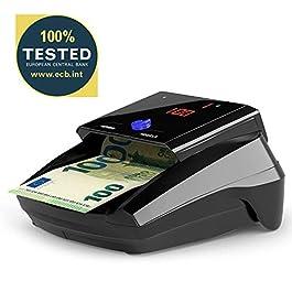 Detectalia D7X – Rilevatore di banconote false con 7 controlli di contraffazione e affidabilità al 100%. Non è…