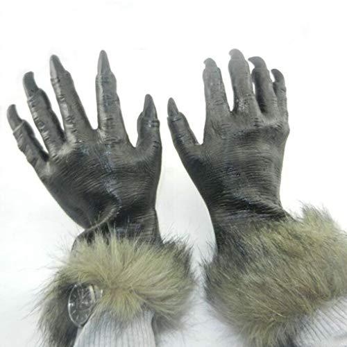 Ben-gi Wolf Handschuhe Cosplay Tanz Halloween Horror Teufel Mode Handschuhe Gi-overall