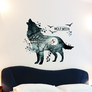 jungle-solitary-wolf-living-room-sofa-background-personality-wall-stickers
