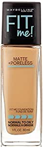 Maybelline New York Fit Me Matte with Poreless Foundation, 310 Sun Beige, 30ml
