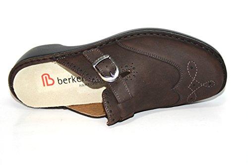 Berkemann Maika 04207 Damen Herren Clogs & Pantoletten Braun (braun 420)