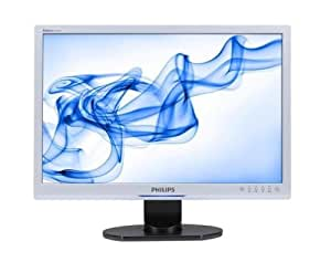 "Philips 240BW9CS Ecran PC LCD 24"" WIDE WUXGA 1920 x 1200 10000:1 5ms DVI + VGA Argent"