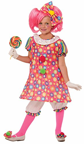 Forum Novelties Little Tickles The Clown Costume Child Large Child Medium