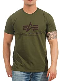 Alpha Industries Basic T-Shirt Militärgrün XL