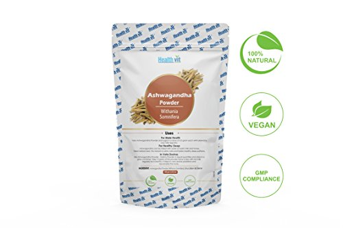 Healthvit Natural Ashwagandha Powder 100g