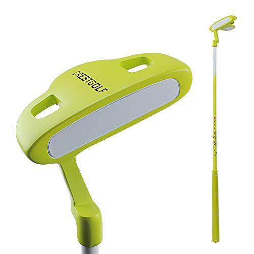 Crestgolf Kinder Golfschläger für Rechtshänder Junior Putter, gelb, 24inches(3-5years Old) (Junior Golfschläger Graphit)