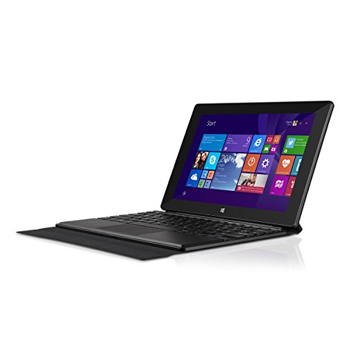 TrekStor SurfTab wintron 10.1 pure (10.1 Zoll Windows-Tablet mit Intel Inside, Tastaturtasche, 32 GB Speicher und 2 GB RAM) schwarz