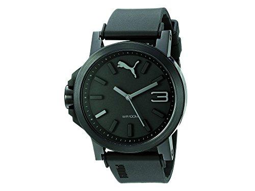 PUMA Unisex-Armbanduhr Analog Quarz Kunststoff PU103462015