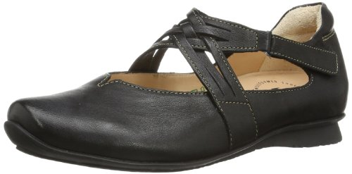 Think Chilli 82108 Damen Ballerinas, Schwarz (sz/kombi 09), EU 38