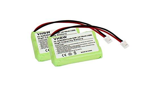 vhbw-2x-ni-mh-akku-700mah-36v-fur-telefon-handy-motorola-babyphone-188610-mbp36-thomson-t7400-wie-nt
