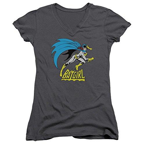 DC Batgirl is Hot Kinder T-Shirt mit V-Ausschnitt, offizielles Lizenzprodukt