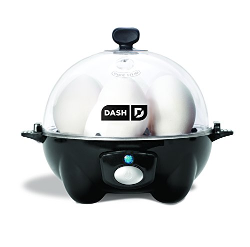Dash DEC005BK Rapid Egg Cooker, Black by Dash