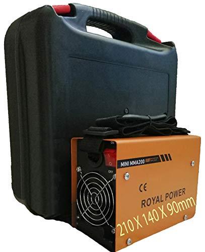 Máquina de Soldar Soldador de Arco Portátil Inversor IGBT Soldadora Inverter