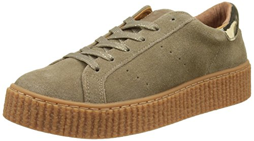 no-name-picadilly-sneaker-baskets-basses-femme-marron-dune-38-eu