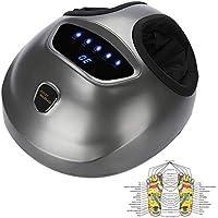 Preisvergleich für Shiatsu-Fuß-Massager, elektrischer Luftkompressions-Wärme-Massager Tiefe Shiatsu-knetende Massage für Reifen-Fuß...