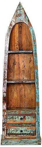 SIT-Möbel 9199-98 Regal, 3 Regalfächer, 2 Schubladen, 55 x 35 x 190 cm hier kaufen