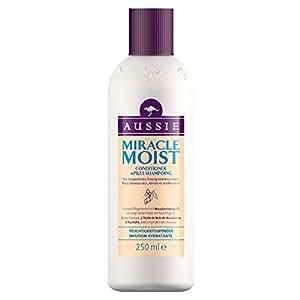 Aussie - Miracle Moist Après-Shampoing pour Cheveux Secs et Abîmés - 250 ml