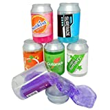 #7: Bright Enterprise Colorful Crystal Mud Magic Slime Putty Clay Soft Scented Stress Relief Sludge DIY Crystal Slime Toy for Kids Adults