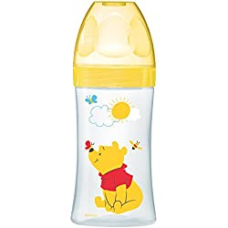 dodie Biberon Sensation Winnie Jaune 270 ml 0-6 Mois