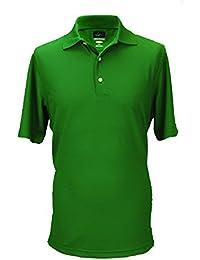 Greg Norman Men's Protek Micro Pique Polo Technical Fabric Shirt