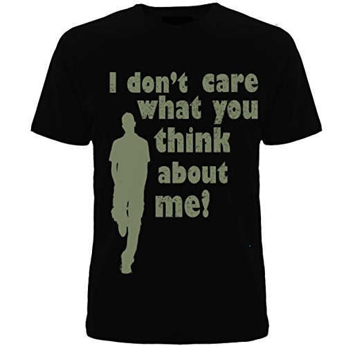 Geefasion tshirts-Set of 1-Men Round Neck Tshirts- I DON'T CARE Printed tshirts