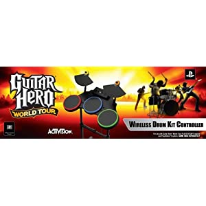 PS2/PS3 Guitar Hero World Tour-Stand Alone Drums by Activision