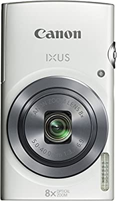 Canon IXUS 160 Digitalkamera (20 Megapixel, 8-fach optisch, Weitwinkel-Zoom, 16-fach ZoomPlus, 6,8 cm (2,7 Zoll) LCD-Display, HD-Movie 720p)