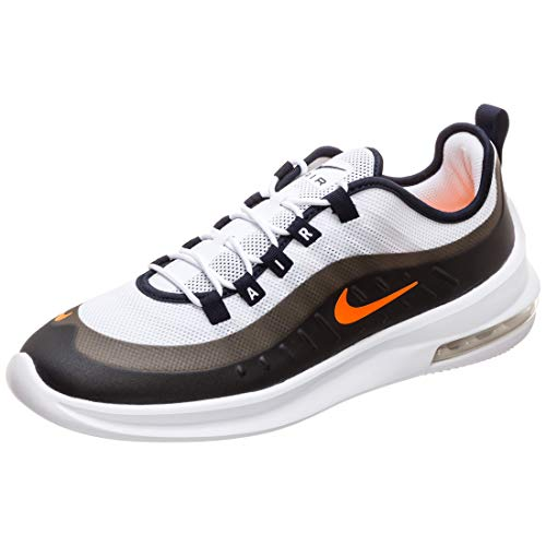 Nike Herren Air Max Axis Leichtathletikschuhe, Mehrfarbig (White/Total Orange/Obsidian 108), 46 EU (Nike Total Orange)
