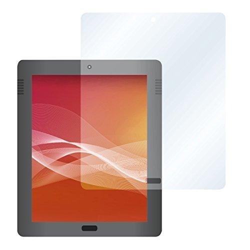 HAMA Proteggi schermo per tablet universale, kit con 2 pellicole, panno pulizia in microfibra, 4 applicatori, max 12