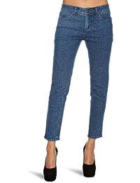 Wizard Audrey Diamante Skinny Ankle Length Women's Jeans Stonewash Blue