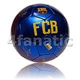FC Barcelona - Balón f.c. barcelona con escudo y firmas grande talla 5