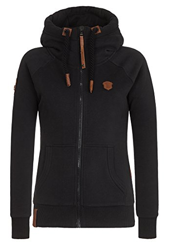Naketano Female Zipped Jacket Brazzo Black, S