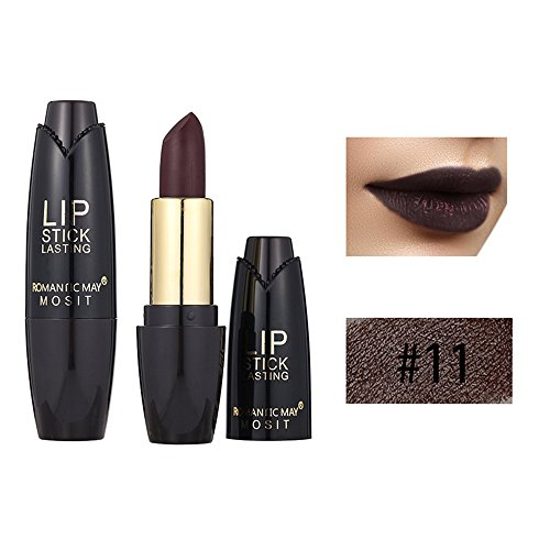 Rouge à Lèvres Liquide Brillant Crayon Durable Gloss Make up Lips DeImperméable Maquillage Cosmétique de Beauté de Imperméable Durable Mat (K)