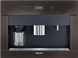 Miele 9521950 CVA6401 Einbau-Kaffeevollautomat, havannabraun mit Bohnenmahlwerk