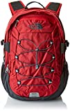 THE NORTH FACE Borealis Classic Rucksack, Rage Red Ripstop/Asphalt Grey, One Size